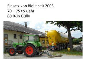Praktikertag für Landwirte