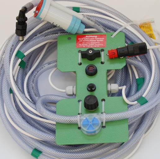 Ideale EM-Dosieranlage für Silage-Heuwerbung-Anschluss-12V-oder-Zigarettenanzünder
