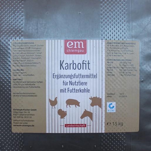 Karbofit - Ergänzungsfuttermittel
