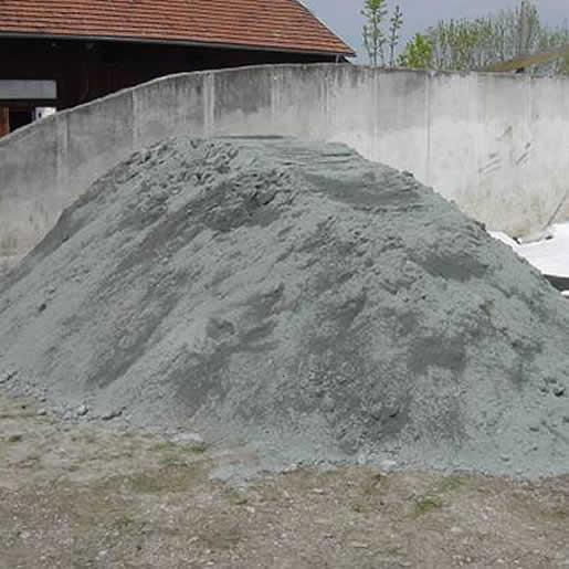 Sandilit medium - Diabas Sand erdfeucht