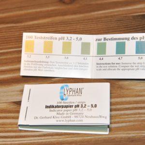 pH Wert Streifen