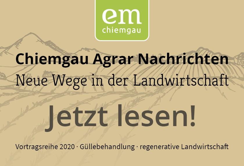 Chiemgau Agrar Nachrichten für Landwirte