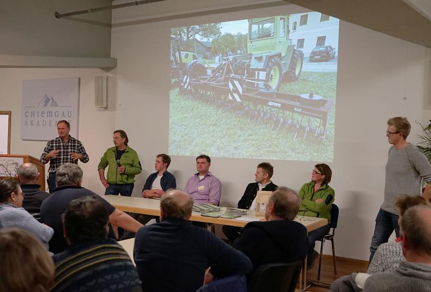 Podiumsgespräch-Grünlandvortrag-Chiemgau-Akademie-2020-Gmade-Wiesn