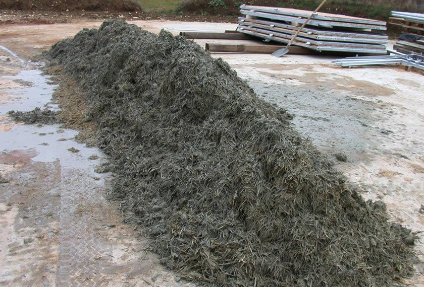 Einstreu mit RoPro-Lit Urgesteinsmehl und Pflanzenkohle