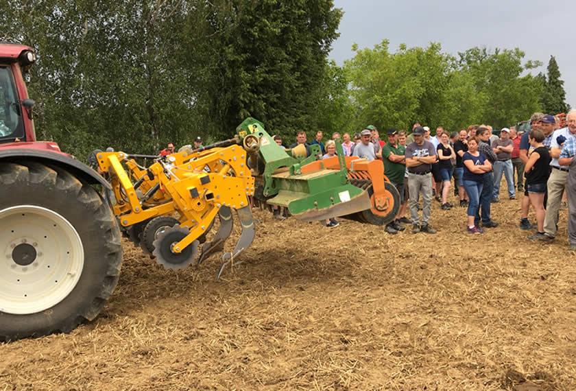 """Feldtag in der Hallertau """"Bodenlockerung und Ferment-Einsatz im Ackerbau"""""""