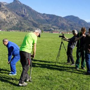 Feldtag mit chiemgau-agrar und Dietmar Näser