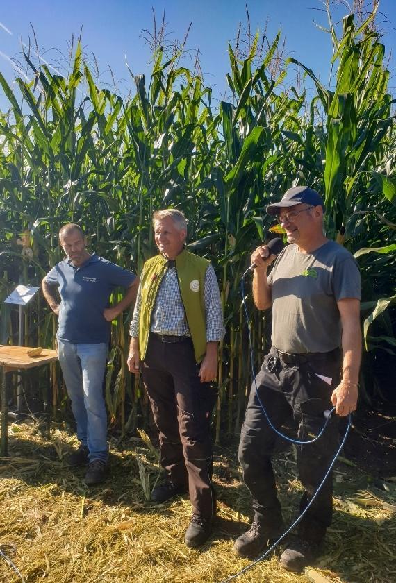 Armin Huschle, Friedrich Wenz und Dietmar Näser